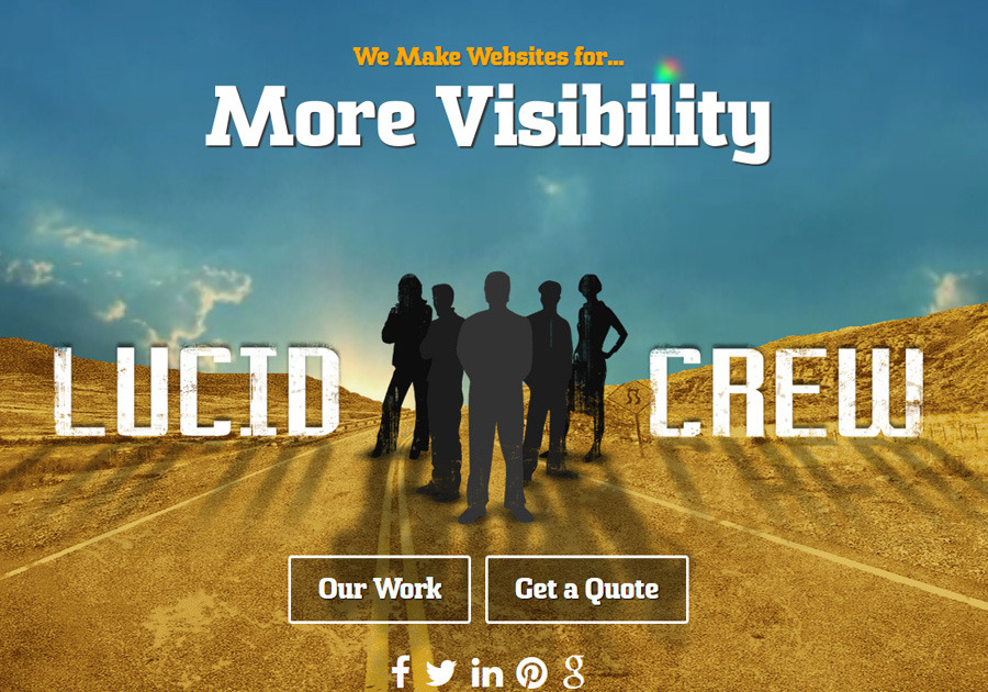 A great web design by Lucid Crew, Austin, TX: Responsive Website, Portfolio , PHP