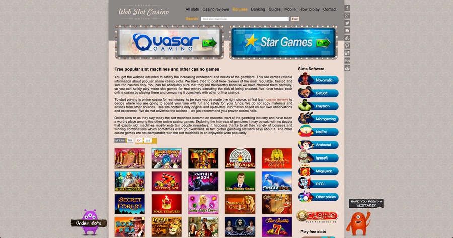 A great web design by Webslotcasino, New York, NY: