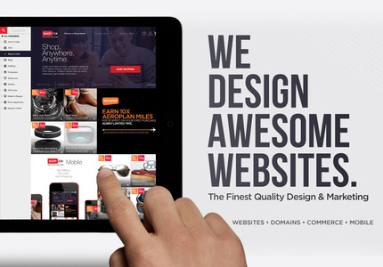 A great web design by Drew Williams: