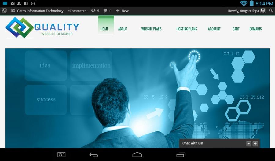 A great web design by Gates Info Tech, Atlanta, GA: