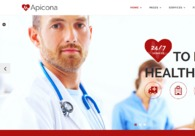 A great web design by Shark Digital Marketing, Toronto, Canada: Portfolio , Healthcare