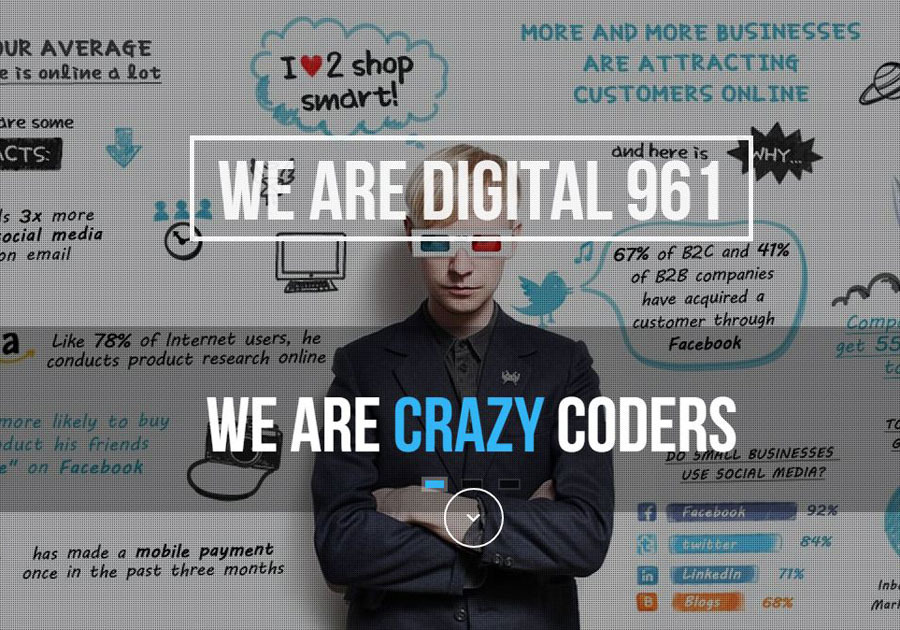 A great web design by Digital 961, Beirut, Lebanon:
