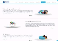 A great web design by Tektide Innovations, Kochi, India: