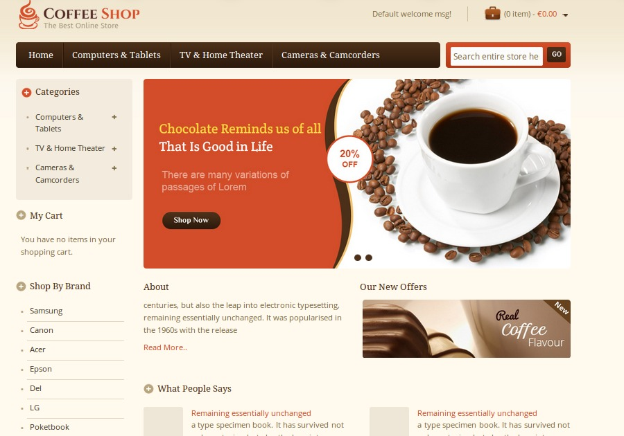 A great web design by Magento Software, Nieuwegein, Netherlands: Responsive Website, E-Commerce , Food & Beverage , Magento