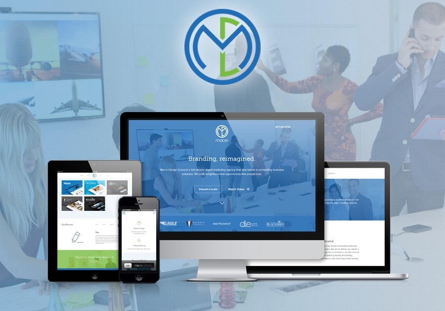 A great web design by Macro Design Group, New York, NY: Responsive Website, Portfolio , Marketing , Wordpress