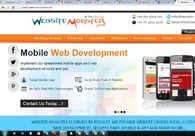 A great web design by WebSite Monster - India, New Delhi, India: