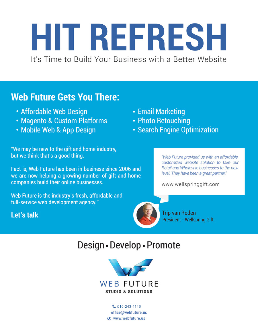 A great web design by WEB FUTURE SOLUTIONS, New York, NY: Responsive Website, E-Commerce , Internet , Magento