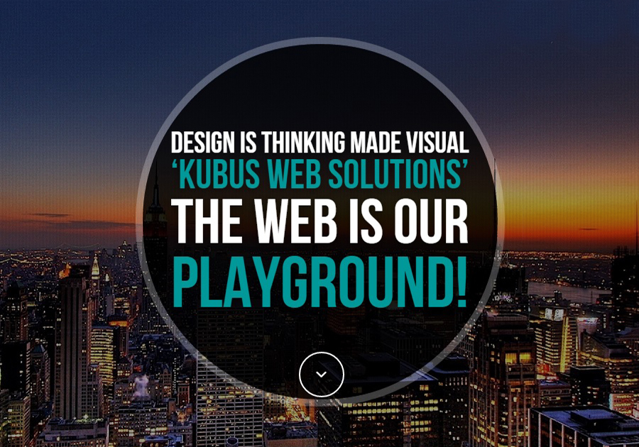 A great web design by Kubus Web Solutions, Amsterdam, Netherlands: