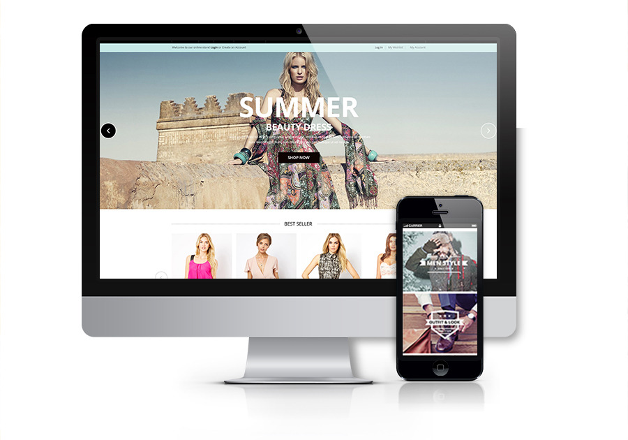 A great web design by Namango, Los Angeles, CA: Responsive Website, E-Commerce , Retail , Magento