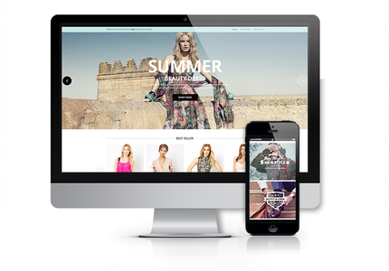 A great web design by Namango: Responsive Website, E-Commerce , Retail , Magento