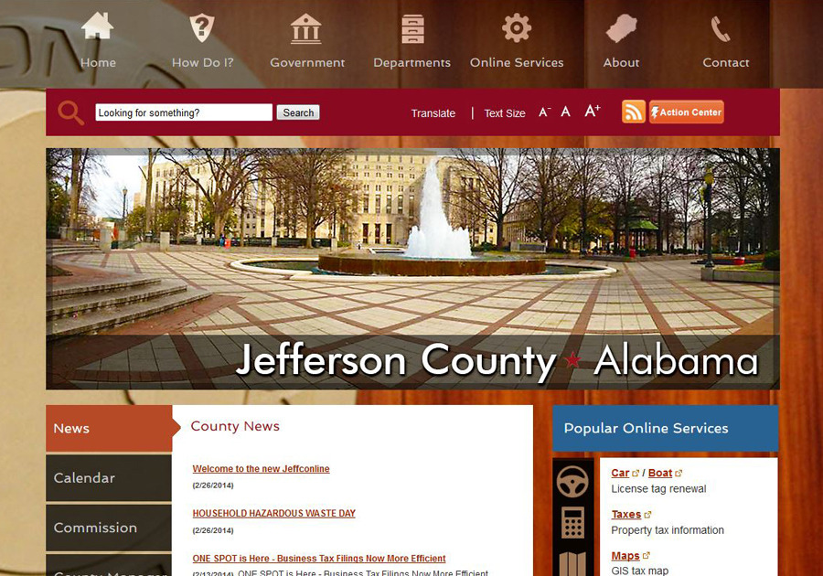 A great web design by Hawkwebdev Developement & Design, Birmingham, AL: Responsive Website, Social/Community , Government , Other