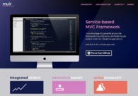 A great web design by BlueLogic, Dallas, TX:
