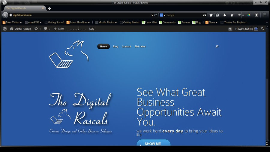 A great web design by The Digital Rascals, Toledo, OH: