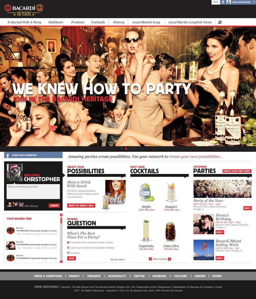 A great web design by ACAP, Fort Lauderdale, FL: Responsive Website, Web Application , Consumer Products , ASP.NET