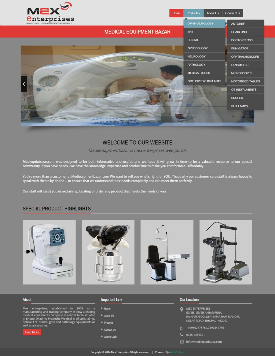 A great web design by KAVISH JAISWAL, Bhopal, India: Responsive Website, Marketing Website , Marketing , PHP