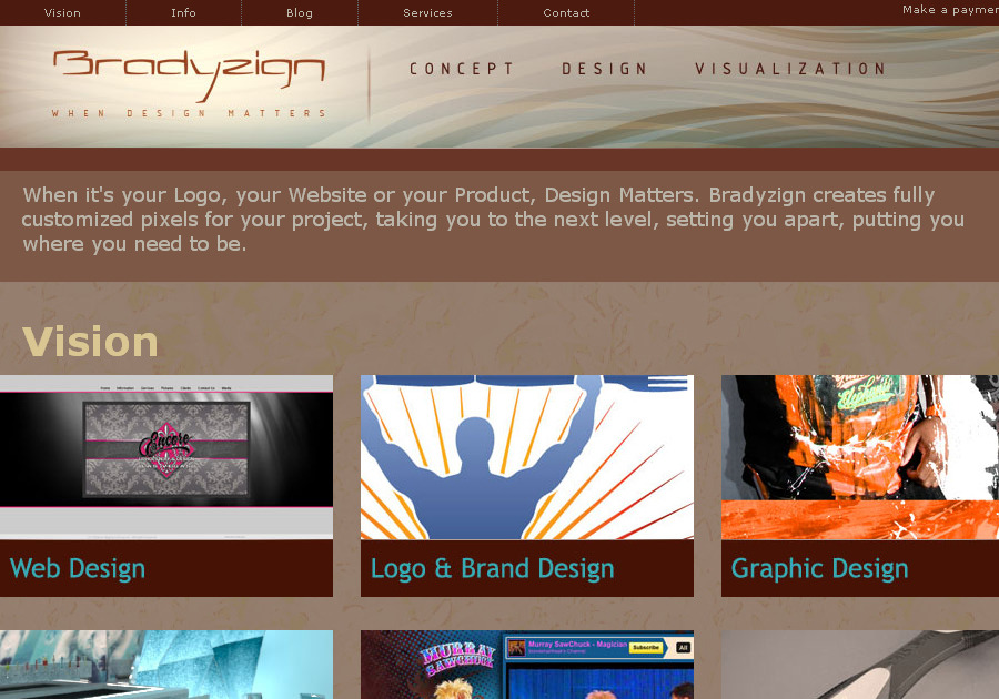 A great web design by Bradyzign, Las Vegas, NV: Responsive Website, Other, Service , Wordpress