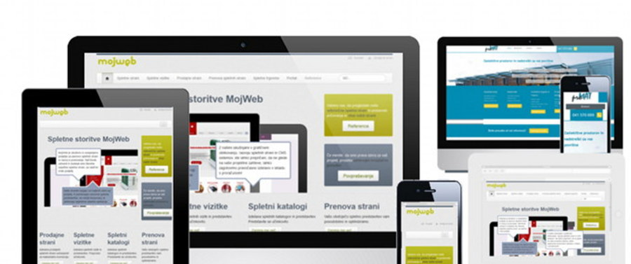 A great web design by MojWeb, Slovenia, Slovenia: