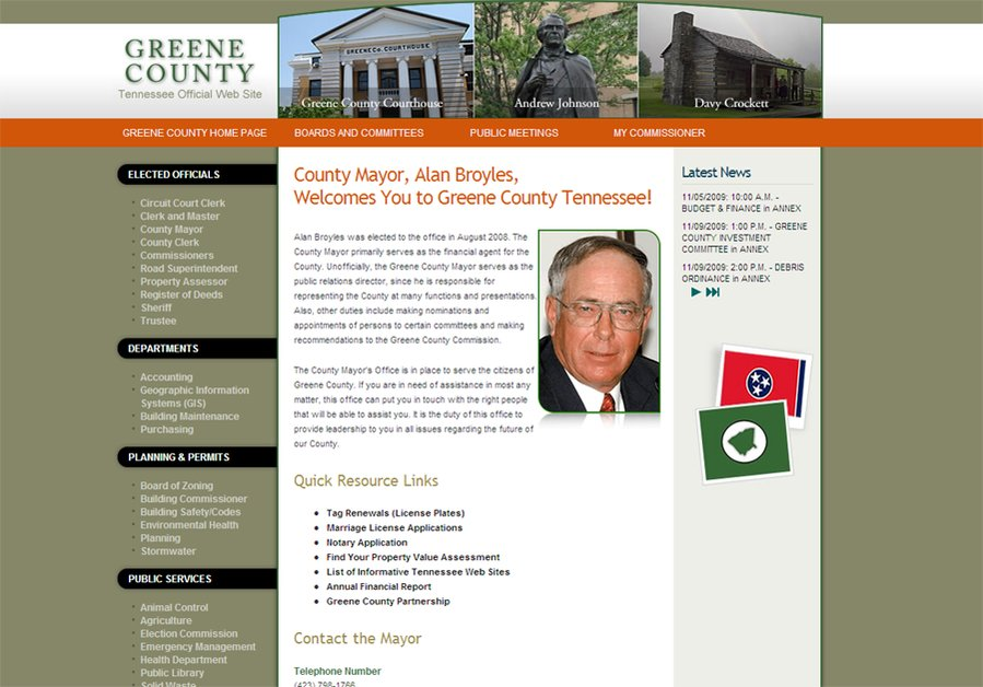 A great web design by MT Computing Solutions, Tri Cities, TN: