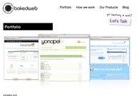 A great web design by bakedweb: