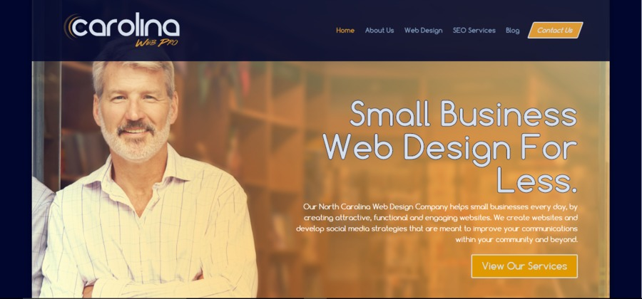 A great web design by Carolina Web Pro, Burlington, NC: