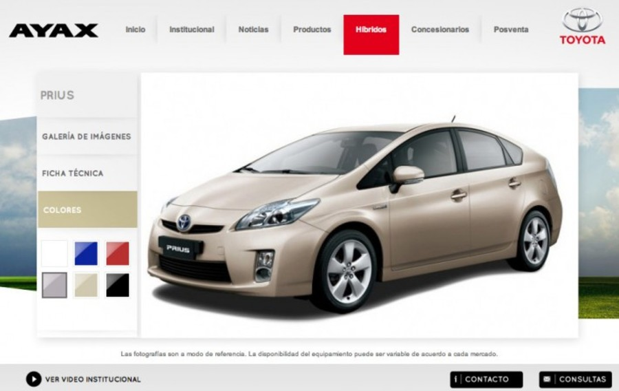 A great web design by QB Media, Montevideo, Uruguay: