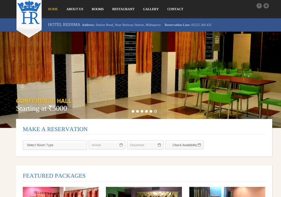A great web design by Dotcom Softwares, Kolkata, India: