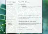 A great web design by Design Pepper, New Orleans, LA: