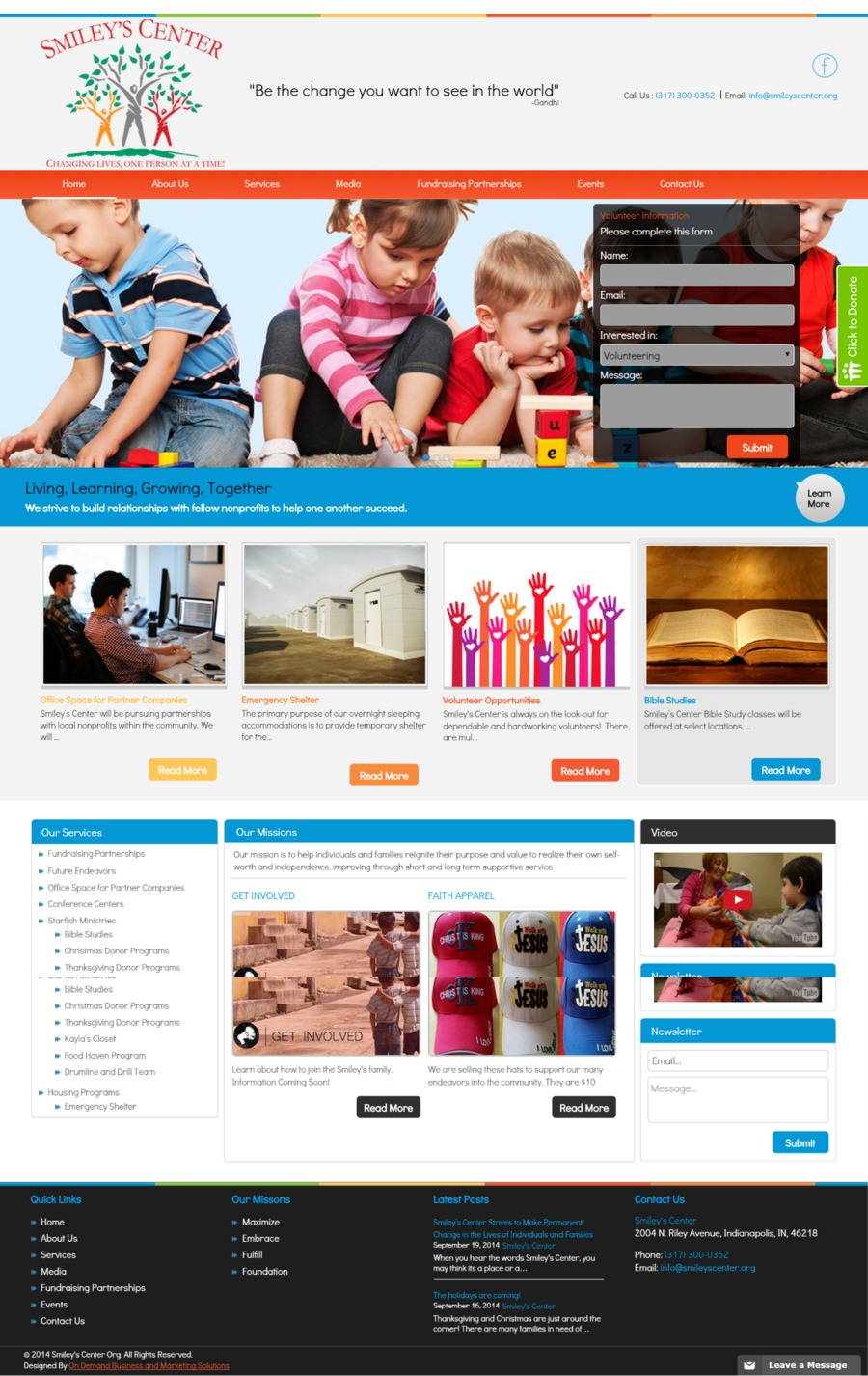 A great web design by ODBAMS, Fort Lauderdale, FL: