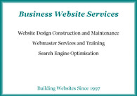A great web design by Charles Brockman, Coos Bay, OR: