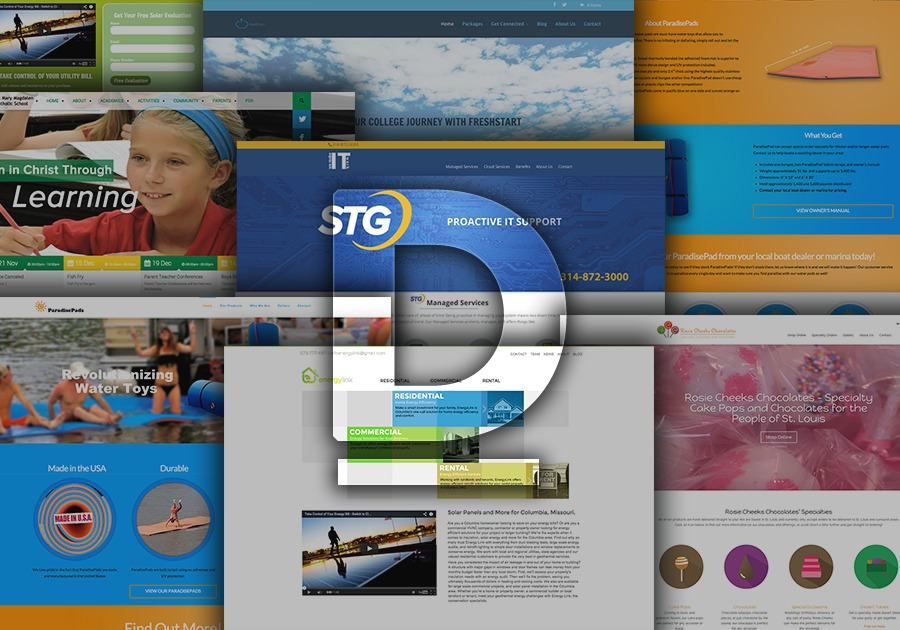 A great web design by DELT, St Louis, MO: