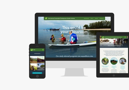 A great web design by Raygun, San Diego, CA: Responsive Website, Marketing Website , Non Profit , Wordpress