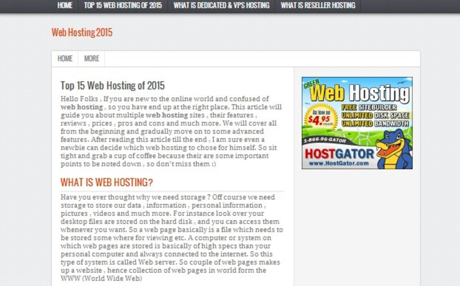 A great web design by WebHostingReviews1, Karachi, Pakistan: