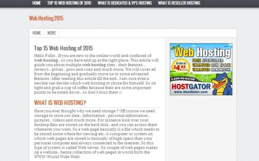 A great web design by WebHostingReviews1, Karachi, Pakistan: