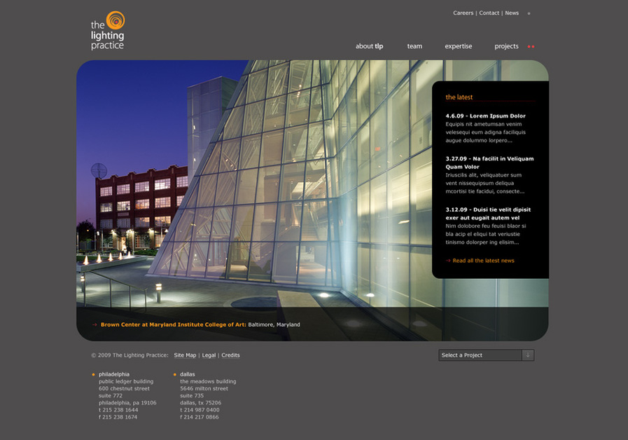 A great web design by Untuck, Philadelphia, PA: