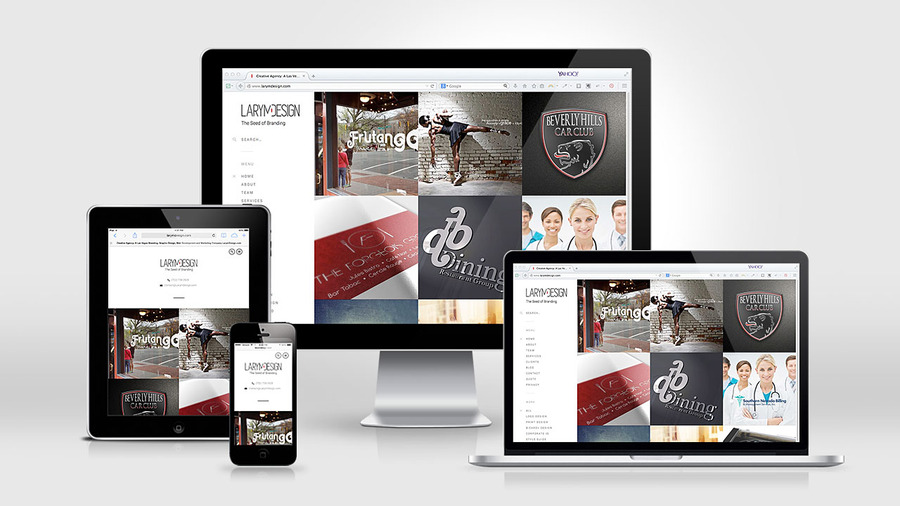 A great web design by Larym Design, Las Vegas, NV: