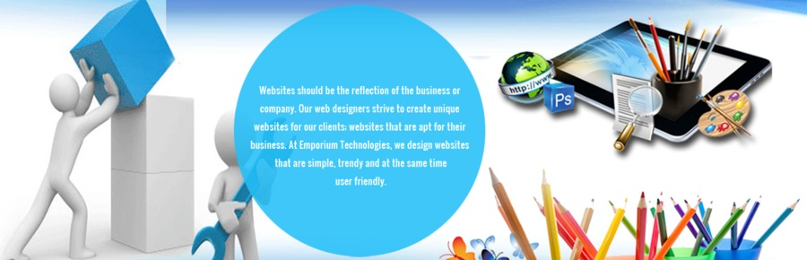 A great web design by Emporium Technologies, Pune, India: