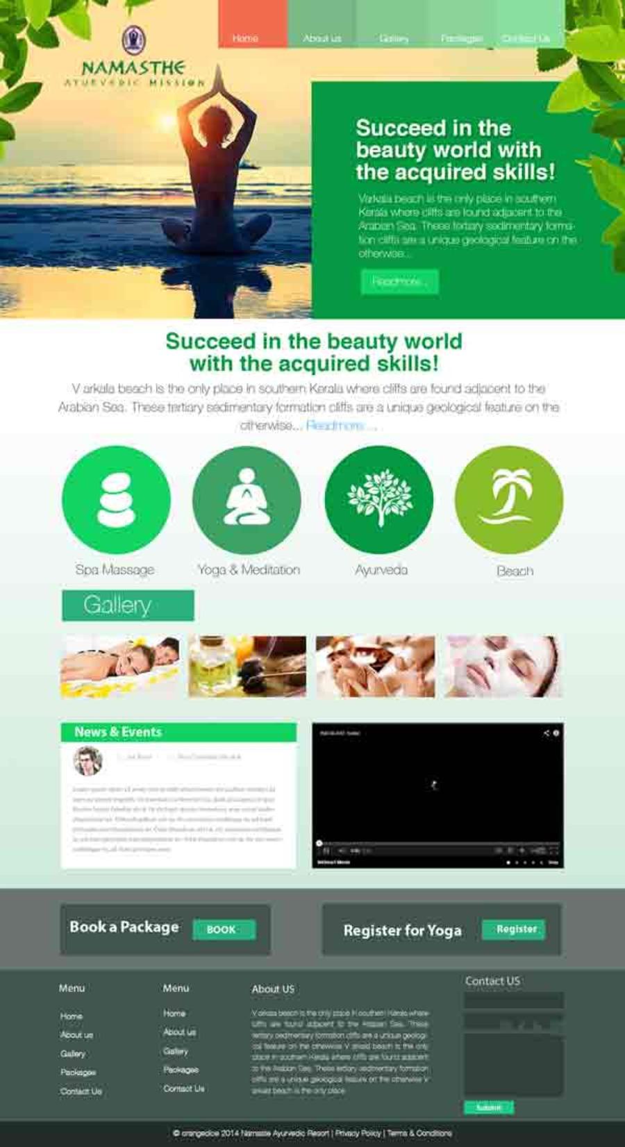 A great web design by Orange Dice Solutions, Kottarakara, India: Mobile Website, Marketing Website , Travel , PHP