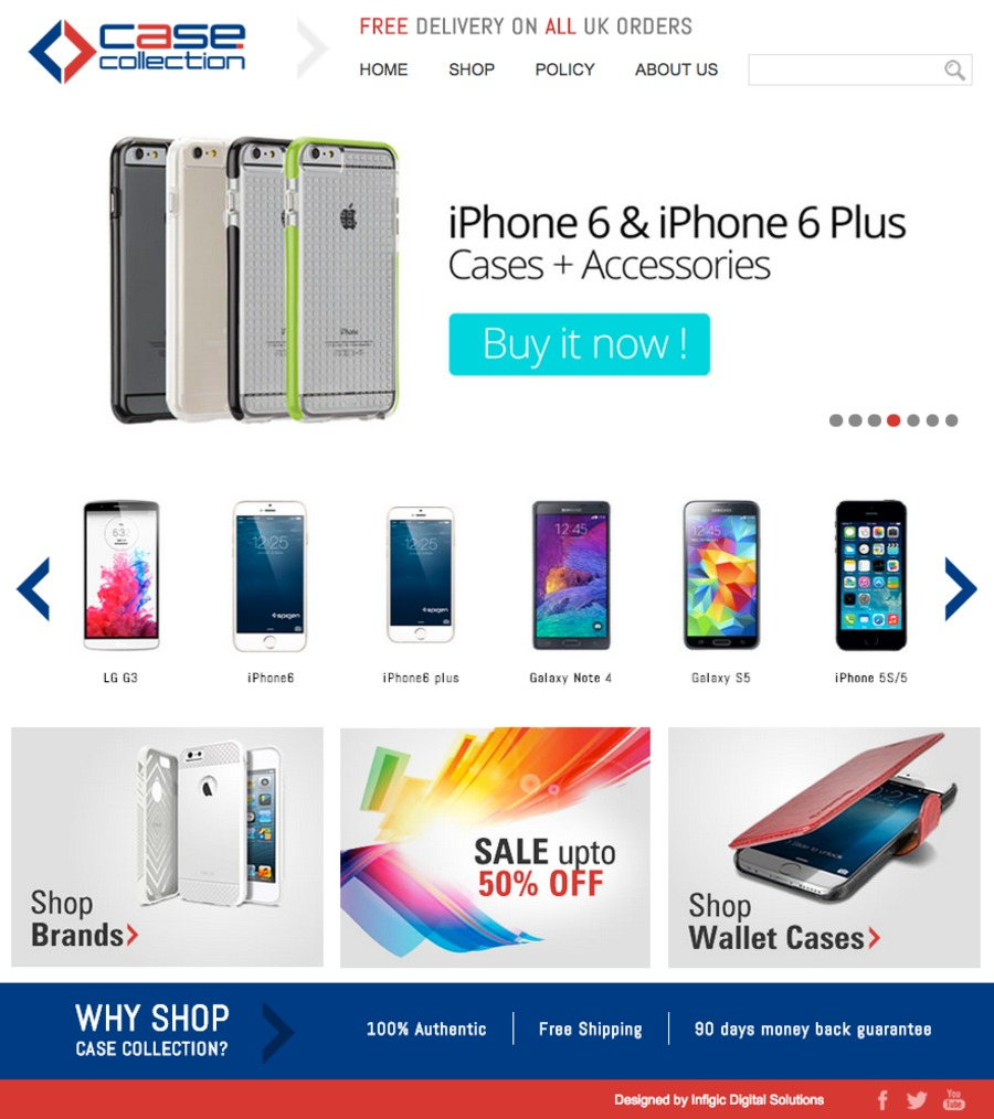 A great web design by Infigic Digital Solutions, Houston, TX: Other, E-Commerce , Technology , Other