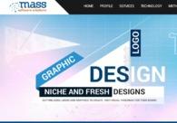A great web design by Mass Software Solution, Kolkata, India: