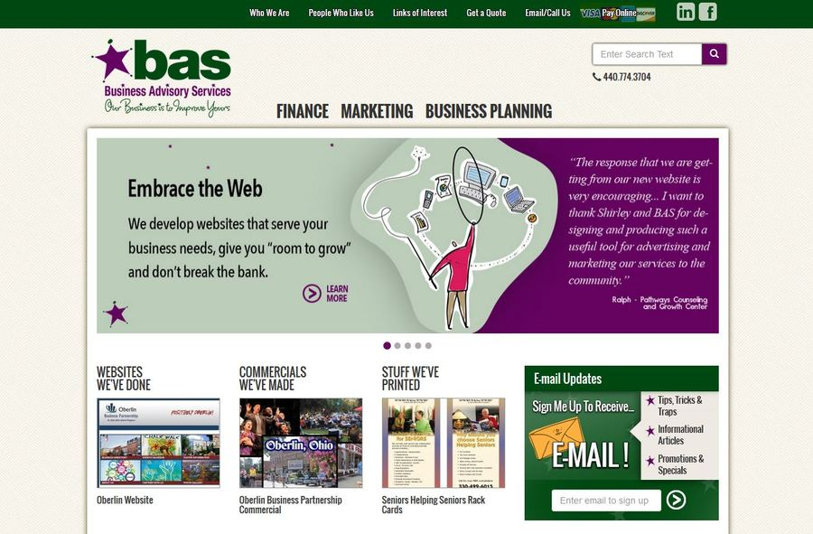 A great web design by Ohio Web Pro Design, Columbus, OH: Responsive Website, Marketing Website , PHP