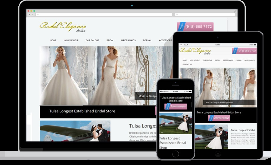 A great web design by DYSite Affordable Tulsa Web Design, Tulsa, OK: Responsive Website, Marketing Website , Fashion , ASP.NET