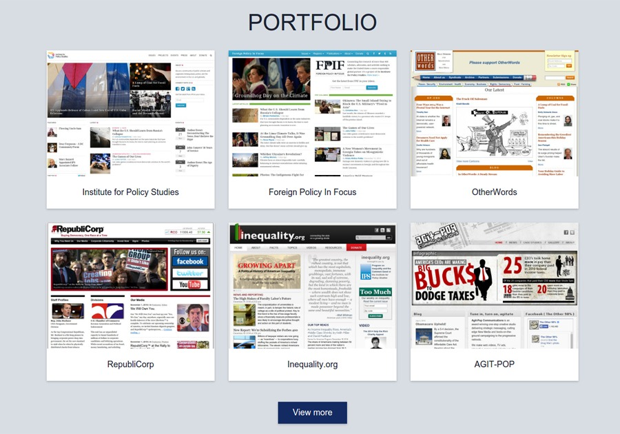 A great web design by Brian's Web Studio, Washington DC, DC: Responsive Website, Portfolio , Technology , Wordpress