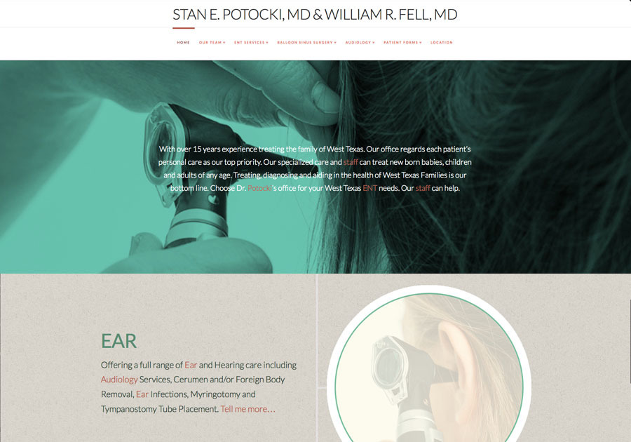 A great web design by Stallings Design Co., Lubbock, TX: