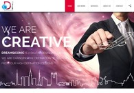A great web design by Dreamsiconic, Noida, India: