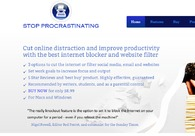 A great web design by Stop Procrastinating, San Francisco, CA: