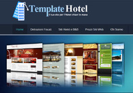 A great web design by TemplateHotel, Milano, Italy: