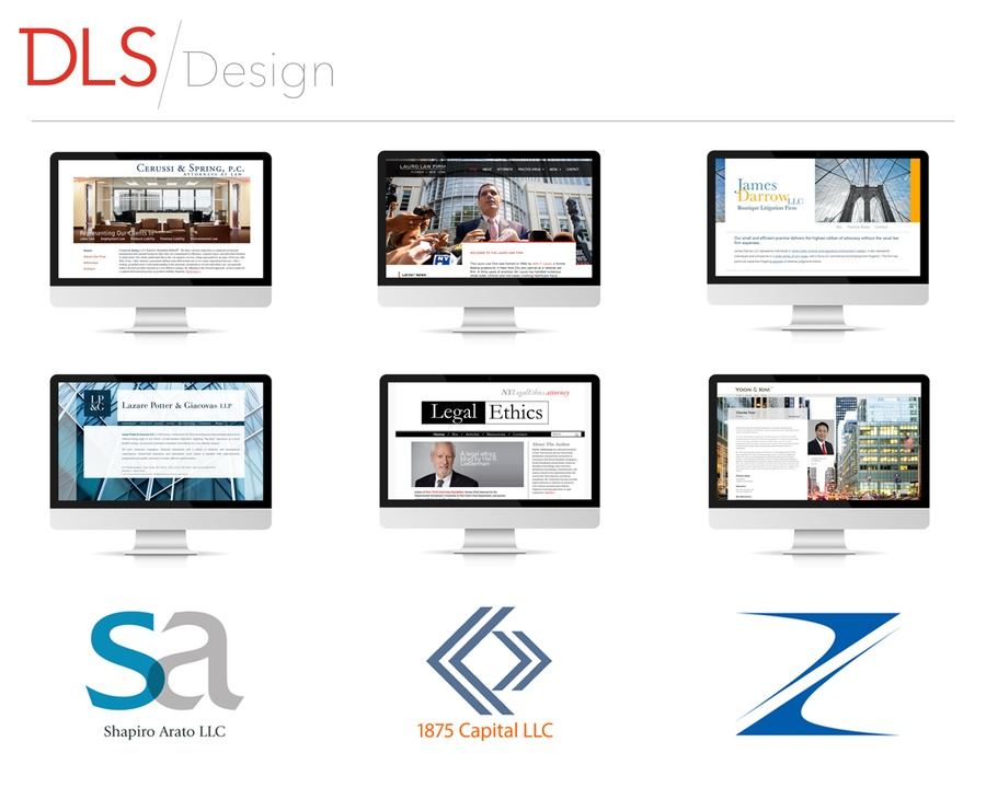 A great web design by DLS Design, New York, NY: