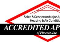 A great web design by Accredited Appliance Phoenix, Phoenix, AZ: