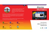 A great web design by Alanto Monteiro, Sao Paulo, Brazil: Responsive Website, Portfolio , Internet , Design Only