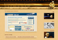 A great web design by BittenNails Design, Boston, MA: